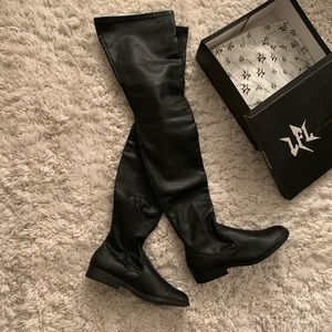Lust for Life thigh high boots